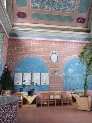 Внутренний вид помещения питьевого бювета Кашинского санатория