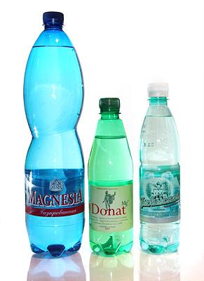 Воды с высоким содержание магния: MagnesiA, Донат Mg, Улеймская магниевая