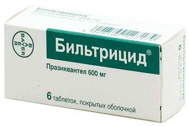 лекарство от простейших паразитов