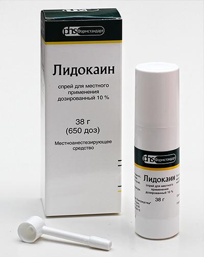 Лидокаин на пол член