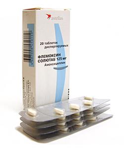 диспергируемые таблетки флемоксина солютаба