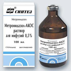 метронидазол-акос