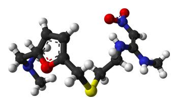 молекула ранитидина