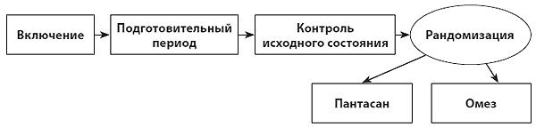 Рис. 1. План проведенного исследования