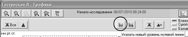 Рис. 18. Панель меню программного обеспечения