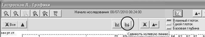 Рис. 19. Панель меню программного обеспечения