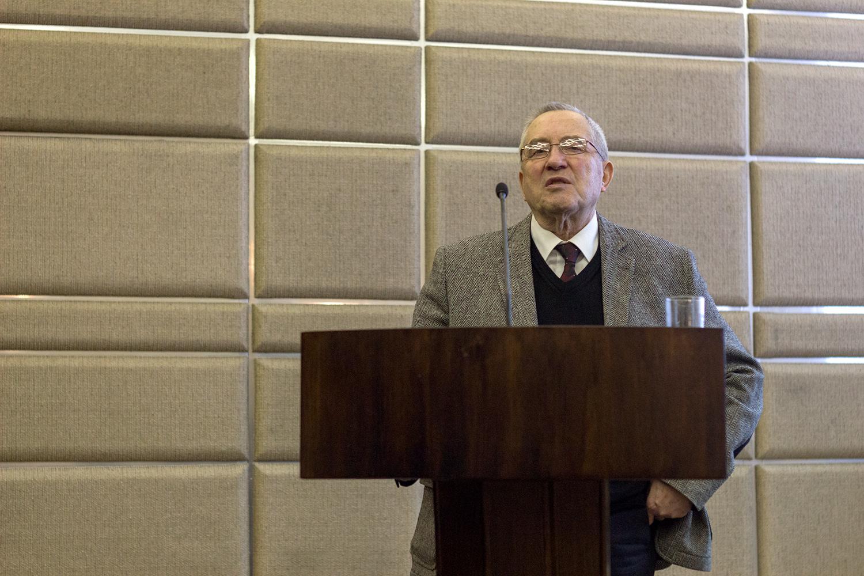 Профессор О.Н. Минушкин