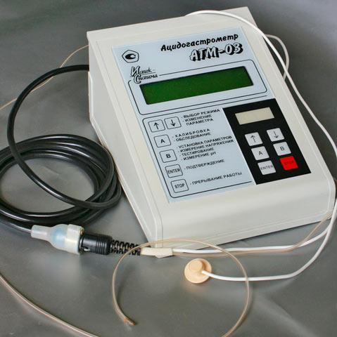 """Ацидогастрометр """"АГМ-03"""" с эндоскопическим рН-зондом"""