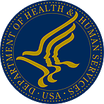 Эмблема United States Department of Health and Human Services.