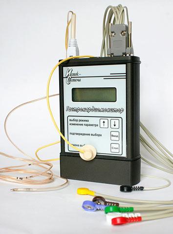 Fig. 4. Gastroskan-EKG gastrocardiomonitor